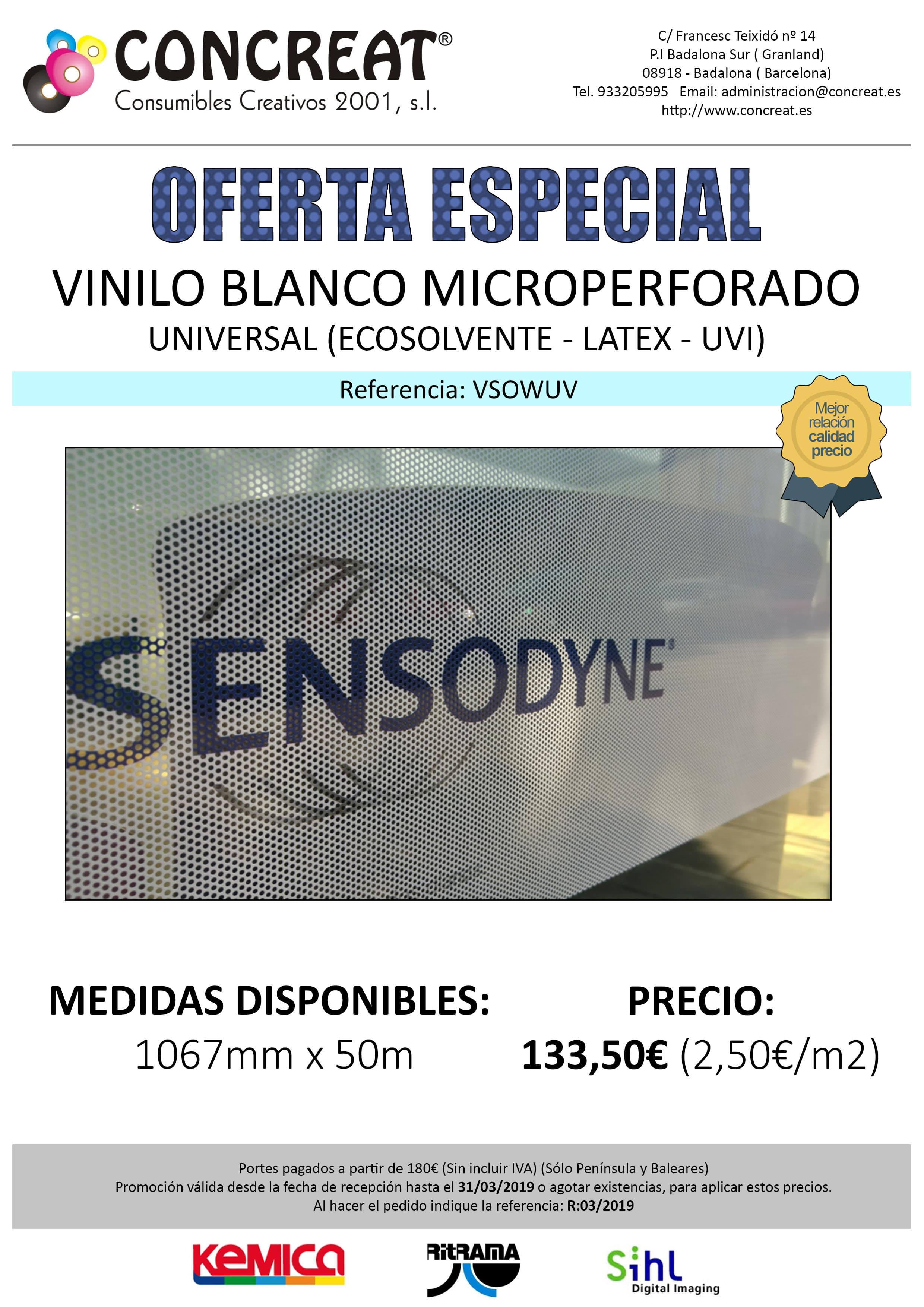 MICROPERFORADO 1067MM min